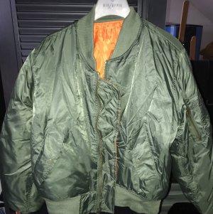 Bomber Jacket khaki-orange