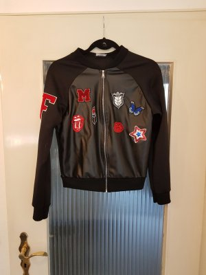 Bomberjacke College Jacke Patches