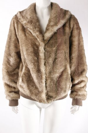 Bomberjacke Fake Fur
