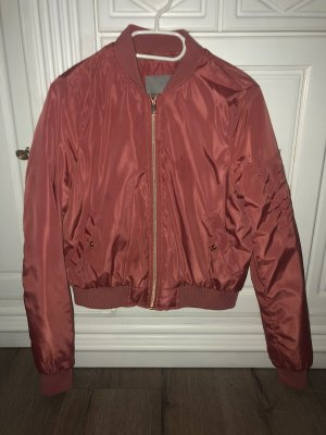 Only Blouson aviateur or rose