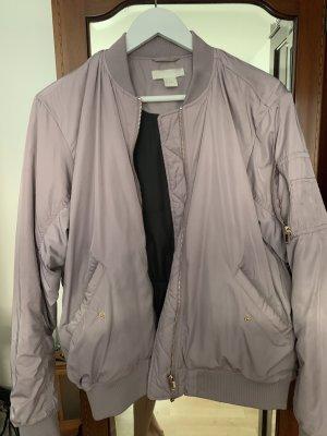 H&M Blouson aviateur violet
