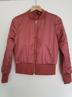 H&M Blouson aviateur bronze-or rose