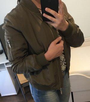 Attentif Bomber Jacket khaki