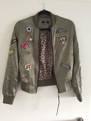 Colloseum Bomber Jacket olive green