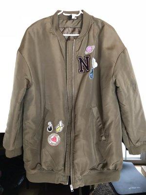 H&M Bomber Jacket khaki