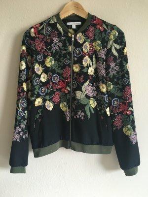 Bomberjacke mit Blumenprint Zara