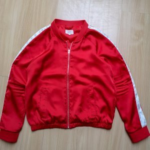 QS by s.Oliver Bomber Jacket white-red
