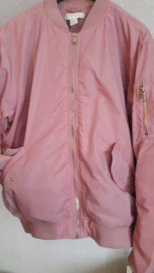 H&M Blouson aviateur rose