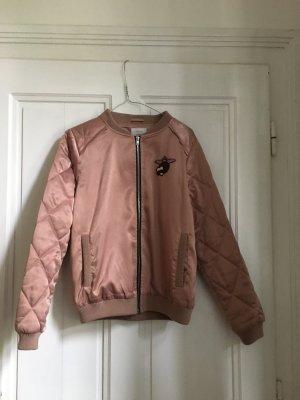 Nümph Bomber Jacket dusky pink polyester