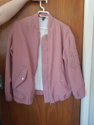 H&M Chaqueta bomber rosa-rosa claro