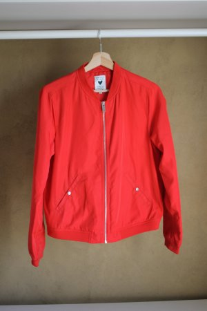 17&co Giacca bomber rosso Poliestere