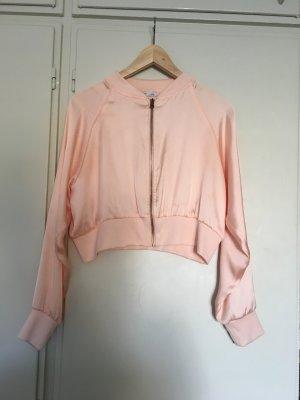 Zara Chaqueta bomber rosa