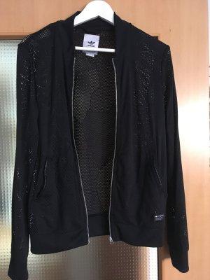 Bomberjacke schwarz adidas Originals 40 L mesh Netz
