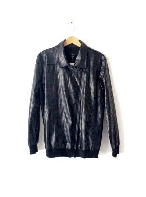 Bomberjacke Stylestalker Hoop Dreams Oversized PU Jacket