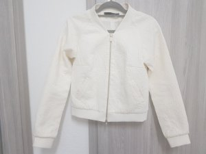 Anna Rita N Bomber Jacket white-cream