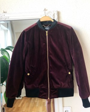 Flatbush Blouson aviateur violet-bordeau