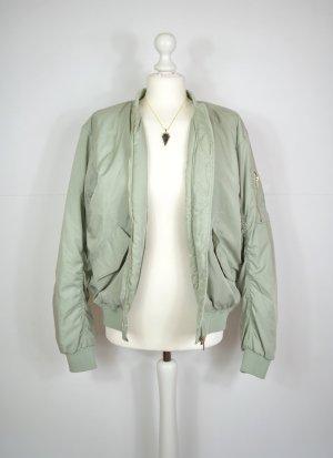 H&M Blouson aviateur vert pâle-vert clair