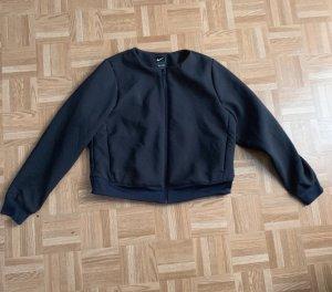 Nike Giacca bomber nero-grigio