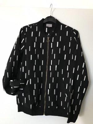 Vero Moda Bomberjack zwart-wit