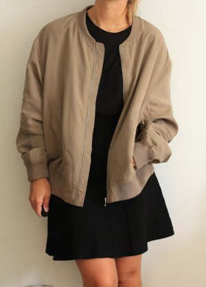 Weekday Bomber Jacket cream