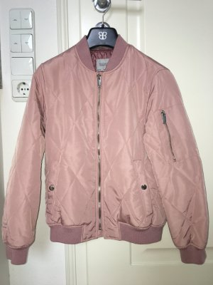 Zara Bomber Jacket rose-gold-coloured-dusky pink