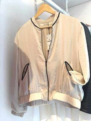 Bomberjacke Zara aus Satin