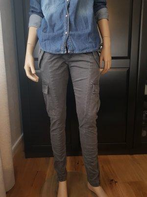 Bomboogie Pantalone cargo grigio