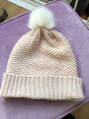 Review Chapeau en tricot multicolore