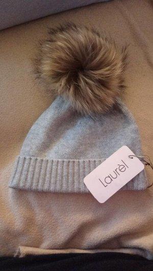 Laurèl Cappello in pelliccia grigio