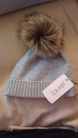 Laurèl Fur Hat grey