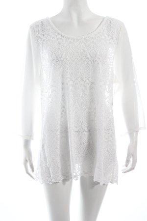 Bon'a Parte Kanten blouse wit romantische stijl