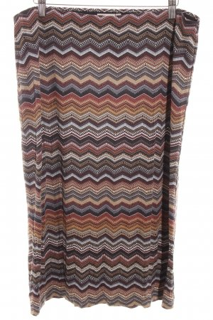 Bon'a Parte Stretch rok zigzag patroon casual uitstraling
