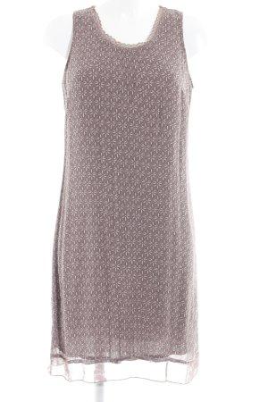Bonaparte A-Linien Kleid blasslila-graulila Blumenmuster Casual-Look