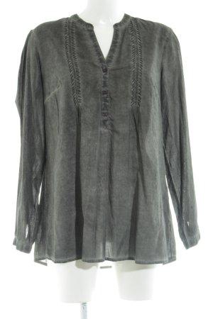 Bonaparte Langarm-Bluse khaki Casual-Look