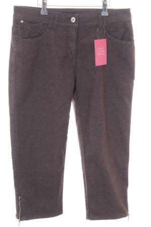 Bonita 3/4 Jeans braun Casual-Look