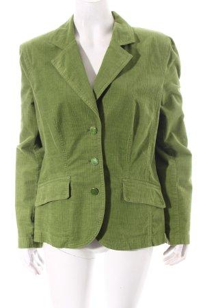 Bonita Blazer grün Samt-Optik