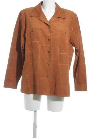Bonita Blousejack donker oranje vintage uitstraling