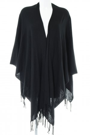 Bonita Cape schwarz Casual-Look