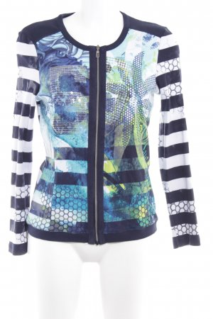 Bonita Cardigan abstrakter Druck extravaganter Stil