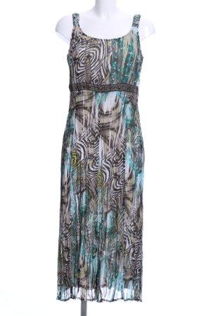 Bonita Chiffon Dress abstract pattern casual look