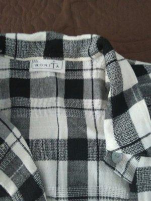 Bonita Damen Hemd Bluse neu weiß/ schwarz Gr. 42