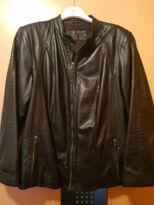 Bonita echte Lederjacke schwarz neuwertiger Zustand Gr. 46