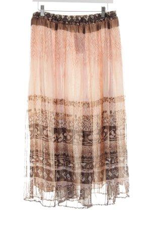 Bonita Jupe à plis Mélange de motifs style décontracté