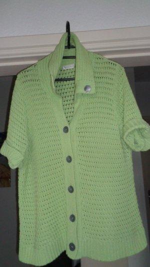 Bonita Veste tricotée en grosses mailles multicolore coton