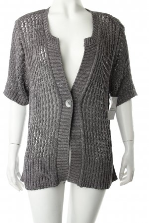 Bonita Crochet Cardigan grey loosely knitted pattern casual look