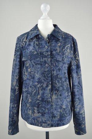 Bonita Jacke Muster blau Größe S
