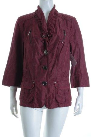 Bonita Jacke purpur schlichter Stil