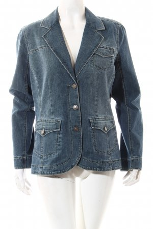 Bonita Denim Blazer blue casual look