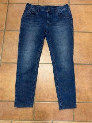 Bonita Stretch jeans donkerblauw-blauw
