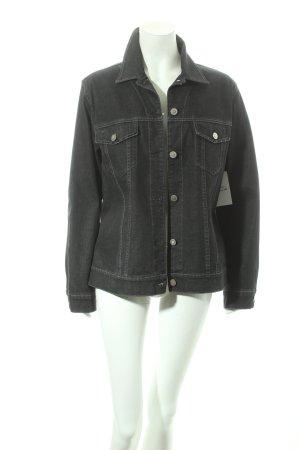 Bonita Jeansjacke schwarz klassischer Stil
